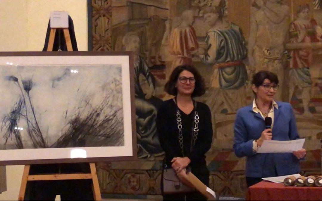 "Elisabetta Diamanti terza premiata al ""Premio Leonardo Sciascia Amateur d'Estampes"", IX edizione."