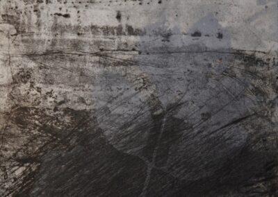 Elisabetta Diamanti, Landscape, incisione calcografica, 2018.