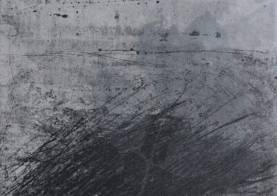 Elisabetta Diamanti, Petali dalle ceneri, incisione calcografica, 2018.