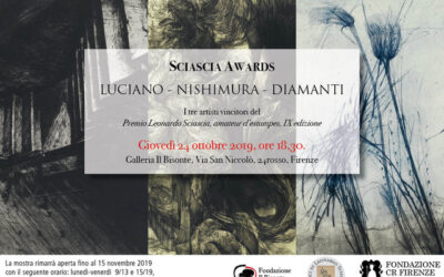 Premio Sciascia: i vincitori in esposizione a Firenze